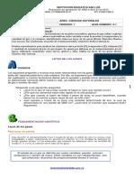 CN. QUIMICA   GRADO (11)  GUÍA (0.1)