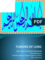 Dr. Fayaz Hussain Bhurgri Presentation Tumor of the Lung