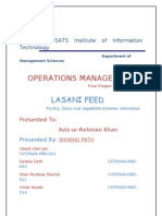 Operation Management Final Project Report