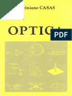Justiniano CASAS Peláez - Optica (1994, Librería Pons)