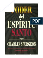 Poder Del Espíritu Santo – Charles H. Spurgeon