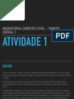 Slides - Atividade 1 Monitoria