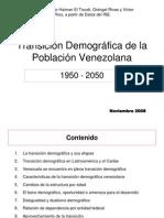 Transicion Demografica Venezolana