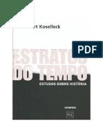 Koselleck Sumario Estratos de tempo