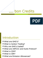 Carbon Credits PPT