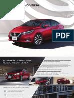 Ficha tecnica Nissan MY20_Nuevo_Versa