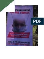 200000 Firmas Para Niños Con Cancer