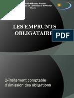 EMPRUNTS OBLIGATAIRES (1)