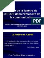 Le Rôle de La Fenêtre de JOHARI Dans Lefficacité de La Communication