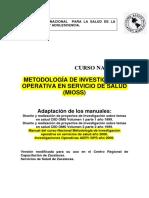 OPS (2001) Metodología de Investigación Operativa en Servicios de Salud