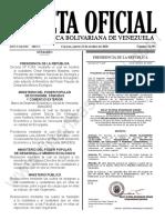 Gaceta Oficial N°41.991