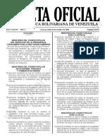 Gaceta Oficial N° 41.993
