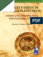 550. Una Nueva Vision de Los Ciclos Planetarios. Ma Cristina Vallejos
