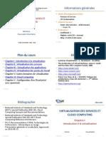 Virtualisation Des Services Et Cloud Computing