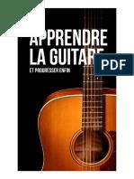 Apprendre La Guitare Et Progresser Enfin