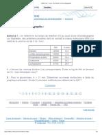 123bio.net - Cours - Exercices de Chromatographie Ex1