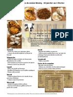 menus cuisine meme moniq 30 janvier 5 février