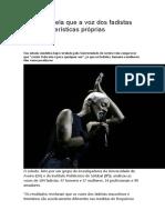 O timbre de Amália Rodrigues