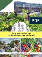 Guide Pour Réaliser Son Jardin Alimentaire Sur Le Toit