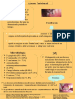 Absceso Periodontal.