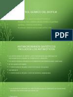 Control químico del biofilm