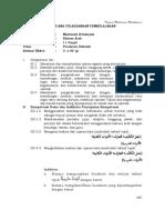 TEMA 4 RPP BAHASA ARAB KLS 1-1