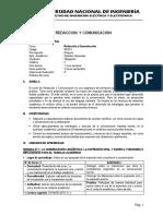 BRC01 - REDACCION Y COMUNICACION