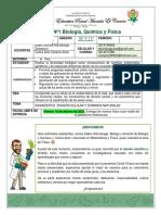 Guía Nº1 Biología-Química-Física 10º y 11º. P1-2021