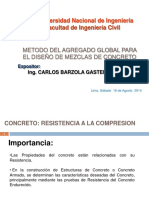 METODO DEL AGREGADO GLOBAL PARA EL DISEÑO DE MEZCLAS DE CONCRETO