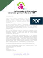 DIF-004-2021.-Tamaulipas es la entidad a nivel nacional que más cirugías gratuitas realizó en el 2020.
