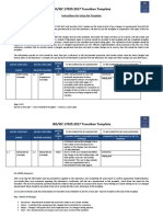 ISO IEC 17025 2017 Transition Template