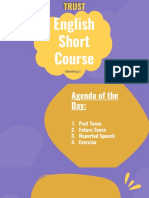 Meeting 2 English Short Course