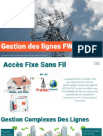 Icix Gestion des lignes Fixed Wireless Access Airtel Niger