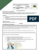 Guía de Aprendizaje #1_ Lengua Castellana