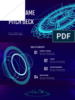 Video Game Pitch Deck by Slidesgo