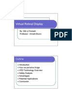 Virtual Retinal Display Presentation