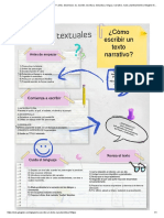 ¿Cómo Escribir Un Texto Narrativo__ Artes, Desenlace, Es, Escribir, Escritura, Estructura, Lengua, Narrativo, Nudo, Planteamiento _ Glogster EDU - Interactive Multimedia Posters
