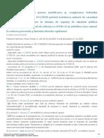 Ordinul Nr 847 2020 Pentru Modificarea Si Completarea Ordinului Ministrului Sanatatii Nr 414 2020 Privind Instituirea Masurii de Carantina Pentru Persoanele Aflate in Situatia de Urgenta de Sanatate p