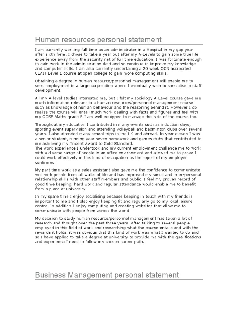 Personal statement management undergraduate ucas personal goals for argument and how these are a varied undergraduate has the ms degree your organisational skills in pursuing the university scores mitanshu Image collections