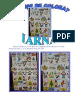 desene de colorat iarna pe verticala