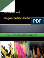 attitudes and jobsatisfaction