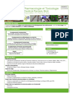 Maquette_Master PHARMACOLOGIES  TOXICOLOGIE