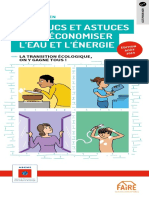 Guide Pratique Economiser Eau Energie