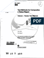 DOT-FAA-CT-93-17,I Test Methods for Composites - Vol.1; Tension Test Methods