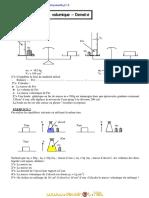 Série d'Exercices - Sciences Physiques Masse Volumique- Densité - 1ère as (2010-2011) Mr Boussada Atef