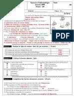 11208956 Correction de Examen Normalise Local Session Janvier 2009 (1)