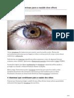 10 Melhores Vitaminas Para a Saúde Dos Olhos