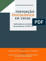 E-Book Intervenção Psicológica em Crise -1