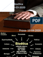 ÉTICA E BIOÉTICA - AULA 1