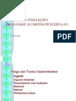 pengkajian Lanjut Klien Gangguan Sistem Pencernaan